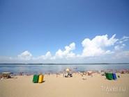 Самарский пляж на Волге