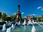 Святая Екатерина и Александровская арка