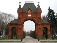 Восстановленная Триумфальная арка (Александровская)