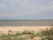 Азовское море рядом с Керченской переправой