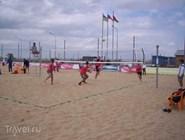 Игры на пляже в Анапе