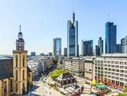 Вид на площадь Hauptwache