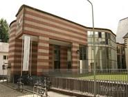 Вход в новое здание археологического музея