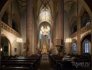Интерьер Die Leonhardskirche