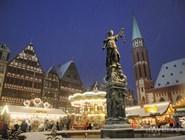 Рождественская ярмарка на площади Рёмерберг