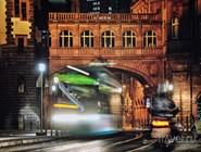 Ночной трамвай в Альтштадте
