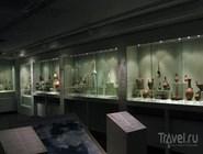 Экспозиция музея кикладского искусства