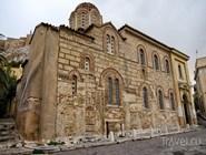 Старая византийская церковь Св.Николая под Акрополем
