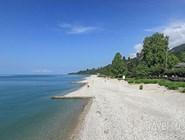 Новый Афон. Пляжи на побережье