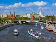 Вид на Москву-реку и Кремль