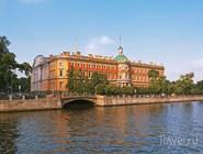 Михайловский замок, вид с набережной Фонтанки