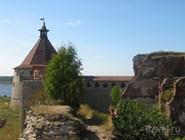 Стены крепости Орешек