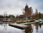 Лодочная станция в Приозерске
