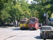 Городской транспорт в Евпатории