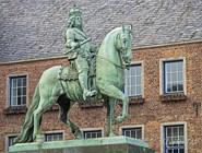 Конная статуя курфюрста  Иоганна-Вильгельма Пфальцского