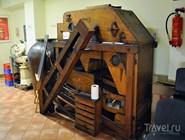 Система очистки горчичных семян из экспозиции музея горчицы