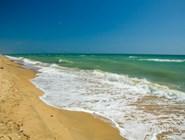 Море в Благовещенской чистое и очень красивое