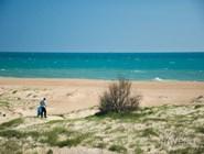"""Пляж рядом с базой отдыха """"Эко-курорт №1"""""""