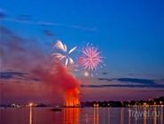 Фестиваль фейерверков в Костроме