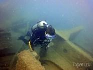 Рядом с Благовещенской есть интересные подводные объекты