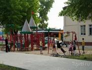 Детская площадка у местного ДК