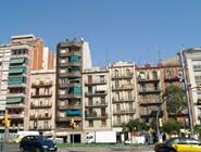 Домики в Барселоне