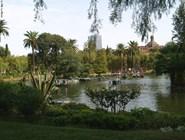Озеро в парке Де-ла-Сьютаделла