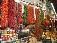 На рынке Бокерия