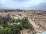 Панорама ватиканских музеев