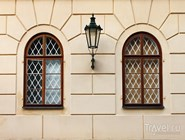 Окна и фонарь