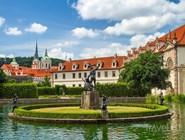 Вальдштейн, дворцовый парк