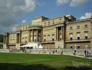 Западный фасад Букингемского дворца