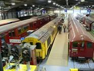 Поезда метро в коллекции Музея общественного транспорта