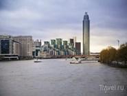 Вид с Темзы на жилые кварталы Челси