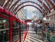 Станция метро Canary Wharf