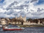 Вид на Тауэр с Темзы
