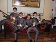 Восковые фигуры The Beatles в музее Мадам Тюссо