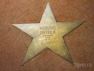 Звезда Марлен Дитрих на Berliner Pflaster