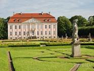 Дворец Friedrichsfelde в Tierpark Berlin-Friedrichsfelde