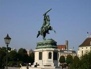 Статуя эрцгерцога Карла-Людвига-Иоанна на Хельденплац