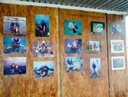 Стена почета утришского дайв-клуба