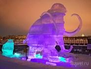 Ледяная скульптура на Art Meets Ice