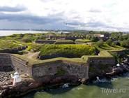 Стены крепости Суоменлинна