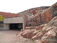 Вход в Temppeliaukion kirkko