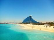 Пляж Jumeirah Beach hotel