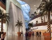 "30-метровая скульптура ""Водопад"" в Dubai Mall"
