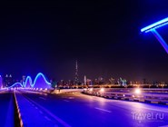 Ночная трасса комплекса Meydan Racecourse