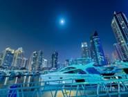 Яхты в Dubai Marina