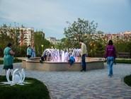 Фонтан в парке Ореховая роща