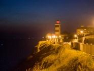Набережная и маяк вечером